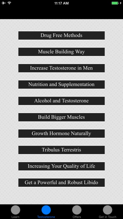 How To Increase Testosterone - Drug Free Methods screenshot-1