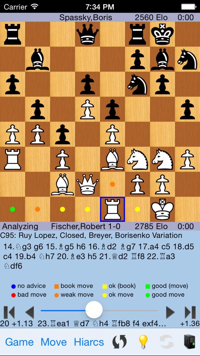 HIARCS Chess Скриншоты3