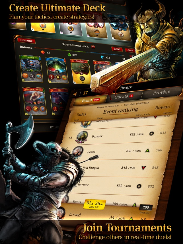 Earthcore: Shattered Elements - Epic Card Battle Game (TCG) Screenshot