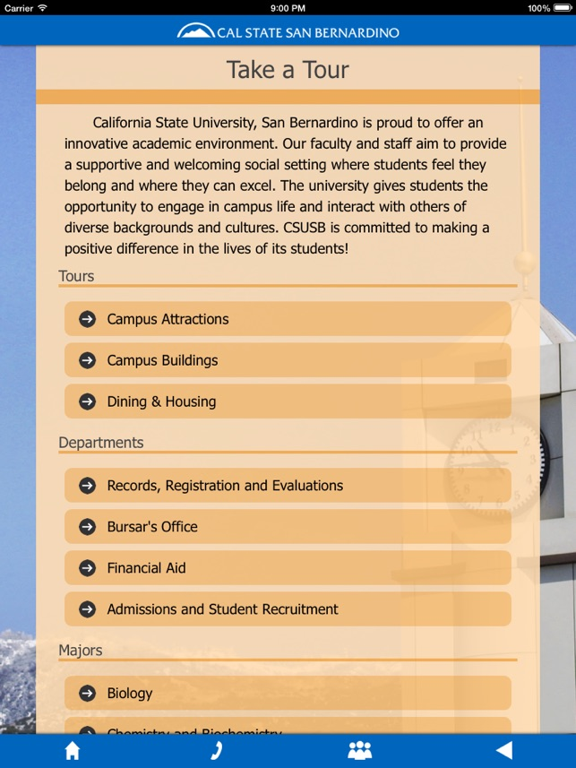 Tour CSUSB on the App Store