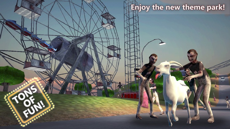 Goat vs Zombies: Best Simulator screenshot-4