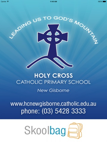 Holy Cross Primary New Gisborne - Skoolbag Скриншоты6