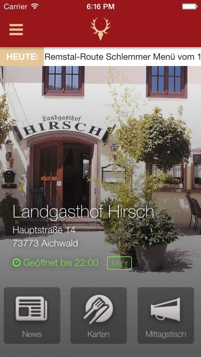Landgasthof HirschScreenshot von 1