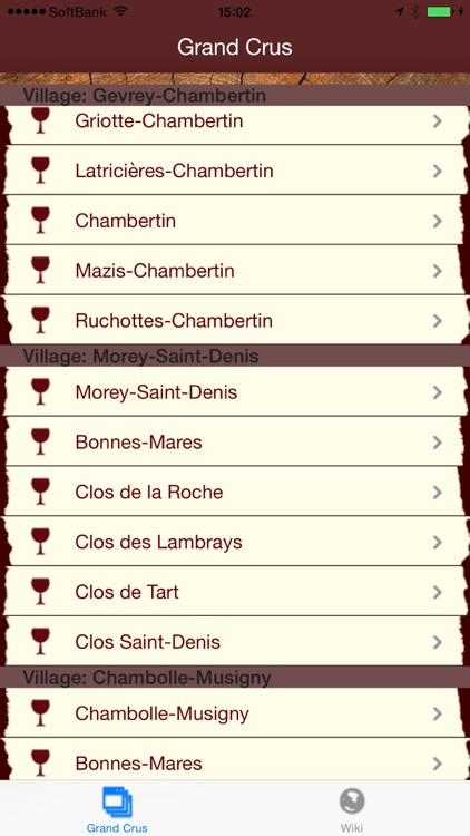 Burgundy Wines screenshot-2