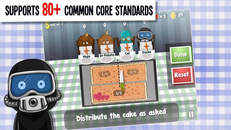 Math Planet - Fun math game curriculum for kids screenshot-3