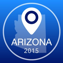 Arizona Offline Map + City Guide Navigator, Attractions and Transports