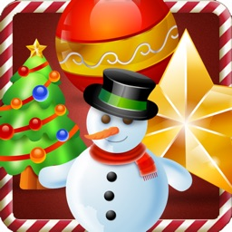 Christmas eve slider. A free match 3 puzzle game with snow fall for whole family