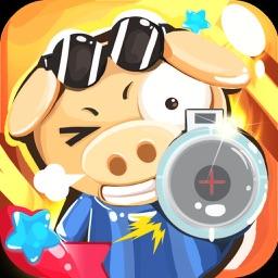 猪猪帅开炮 - 虐心带有节奏感的打炮游戏