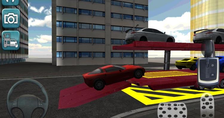 Car Transporter 3D Truck Sim screenshot-3
