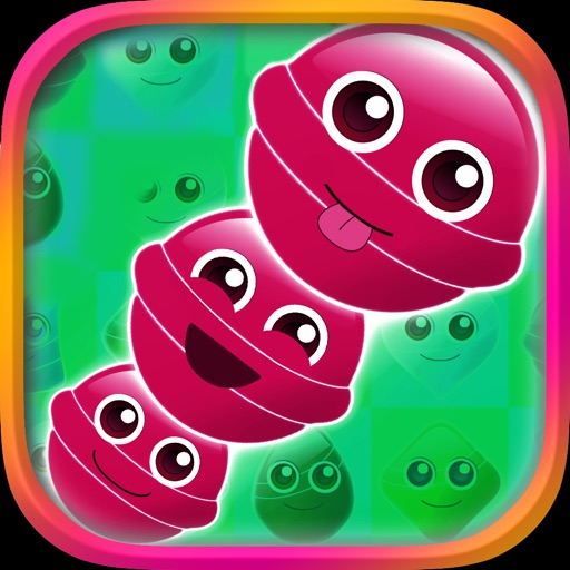 Gum Ball Crush Lite icon