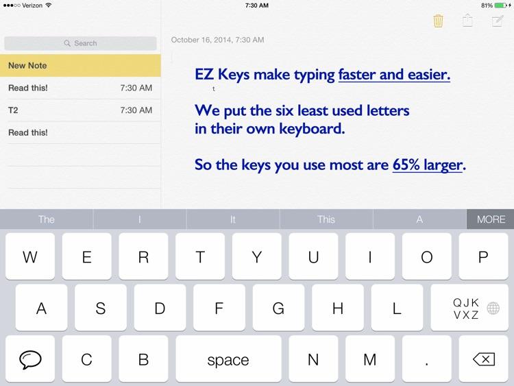 EZ keys