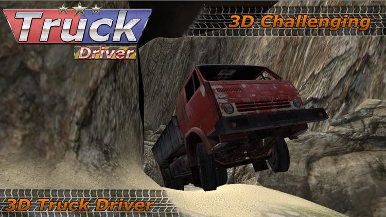 3D Truck Driver : Off Road screenshot-3
