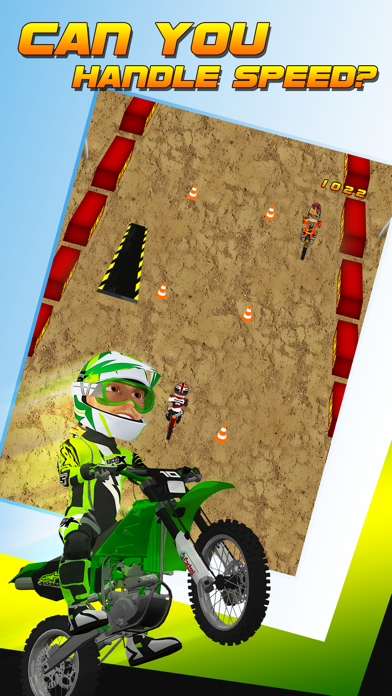 Dirt Track Motocross Bike Madness: Xtreme Offroad
