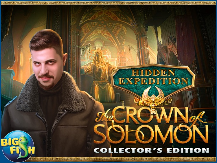 Hidden Expedition: The Crown of Solomon HD - Hidden Objects, Adventure & Mystery screenshot-4