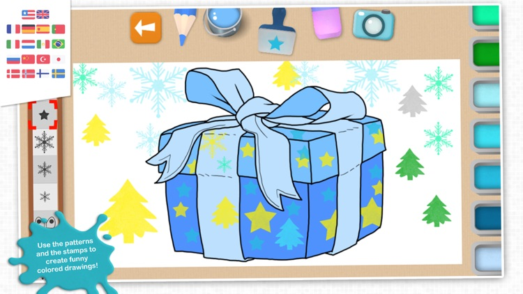 Chocolapps Art Studio - Drawings and coloring pictures for kids screenshot-3