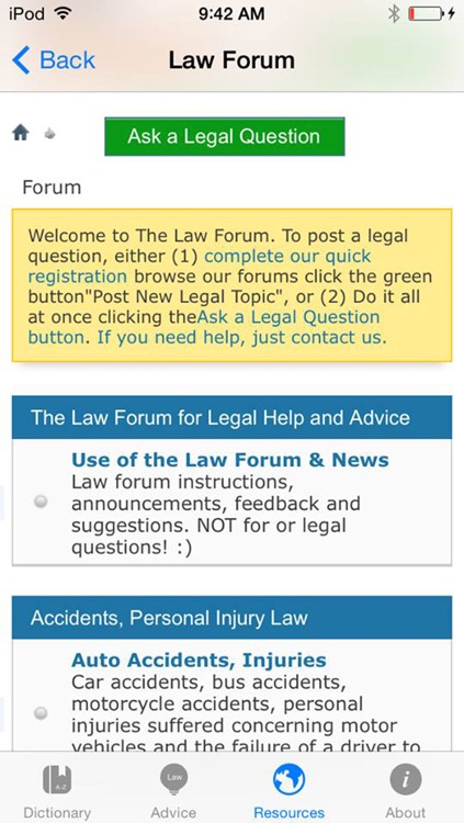 TheLaw.com Law Dictionary Pro screenshot-3