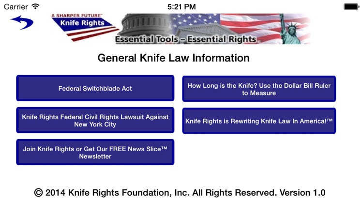 Knife Rights LegalBlade™ screenshot-4
