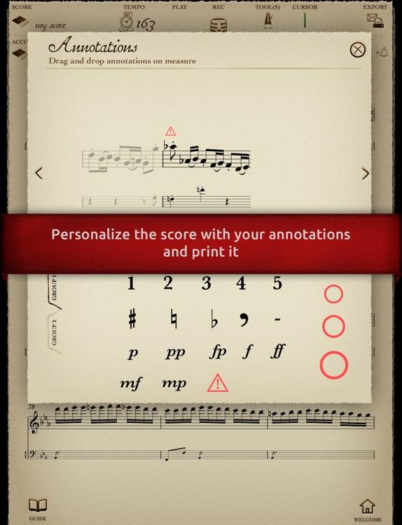"Play Beethoven – Symphony No. 3 ""Eroica"" – I. Allegro con brio (interactive violin sheet music) screenshot-3"