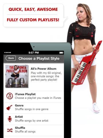 Ali's Power Album: Hour Party Playlist Maker-ipad-4
