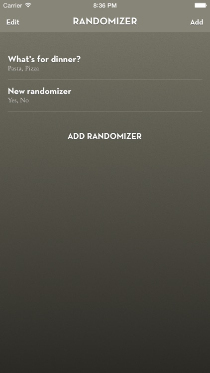 Randomizer Wheel
