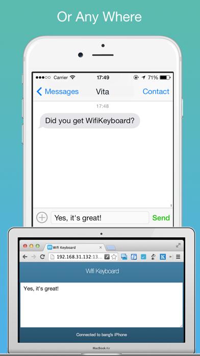 Wifi Keyboard - Connect your keyboard to iPhone/iPad with Wifiのおすすめ画像3