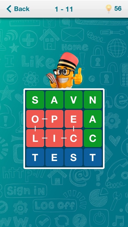 Worders - word search puzzle game, find and guess words on the field screenshot-3