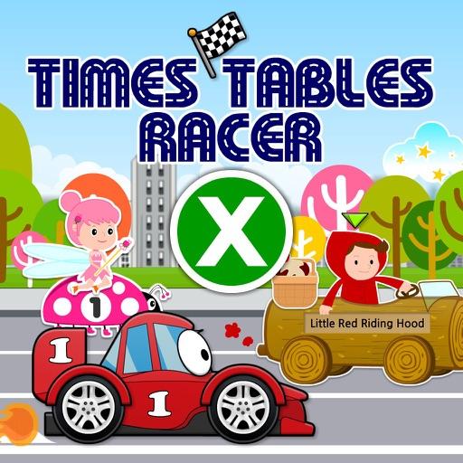 Times Tables Racer: Hot Cars, Fast Fairies & Fairy Tale Dash HD