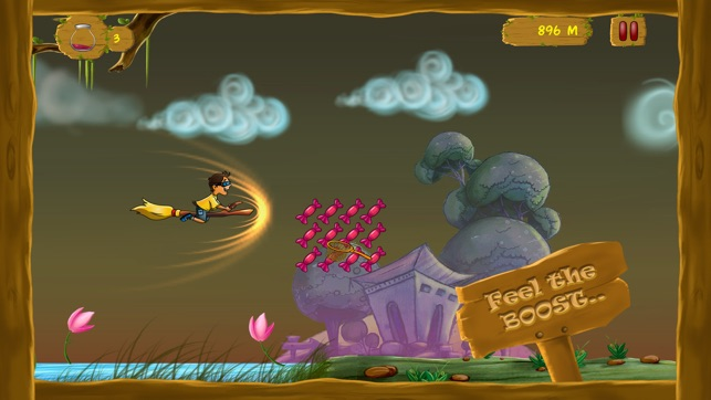 ‎Broom Stick Run Screenshot