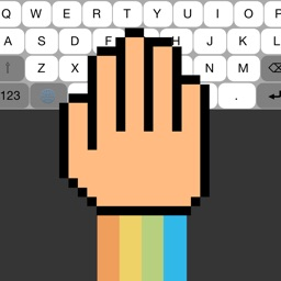 One Handed Resizable Keyboard for Small & Tall People - Customizable Fonts, Colors, Size, and Auto Correct