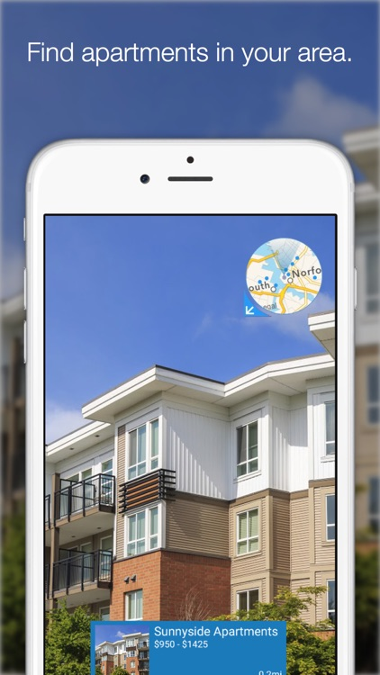 Apartment View by ForRent.com - Augmented Reality Apartment Search for iPhone