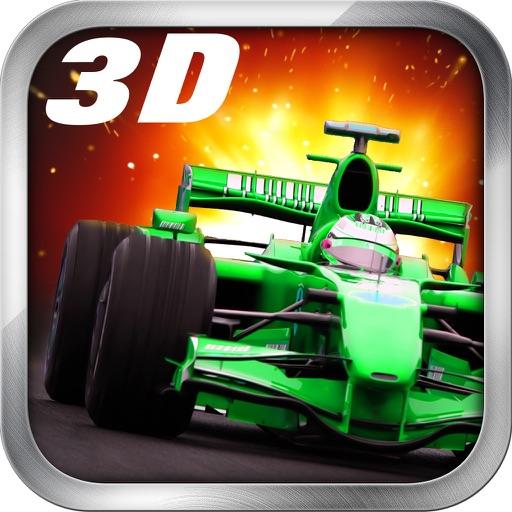 Крайняя 3D Indy F1 Машина Гонка Супер Быстро Скорость Гоночный Игра