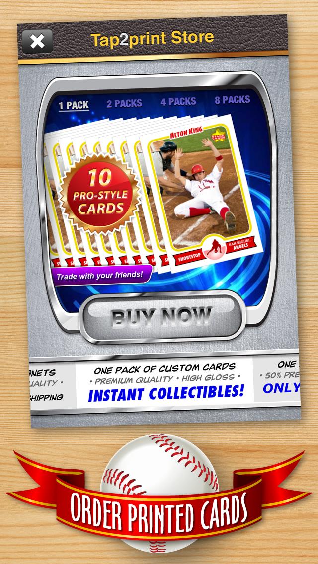 FREE Baseball Card Template — Create Personalized Sports