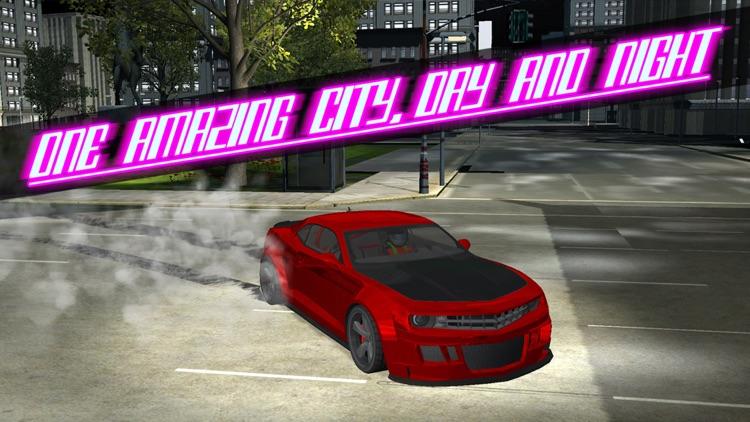 3D Drift Car Parking - Sports Car City Racing and Drifting Championship Simulator : Free Arcade Game screenshot-3