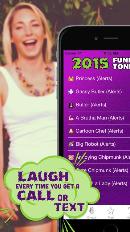 2015 Funny Tones Pro - LOL Ringtones and Alert Sounds screenshot-3