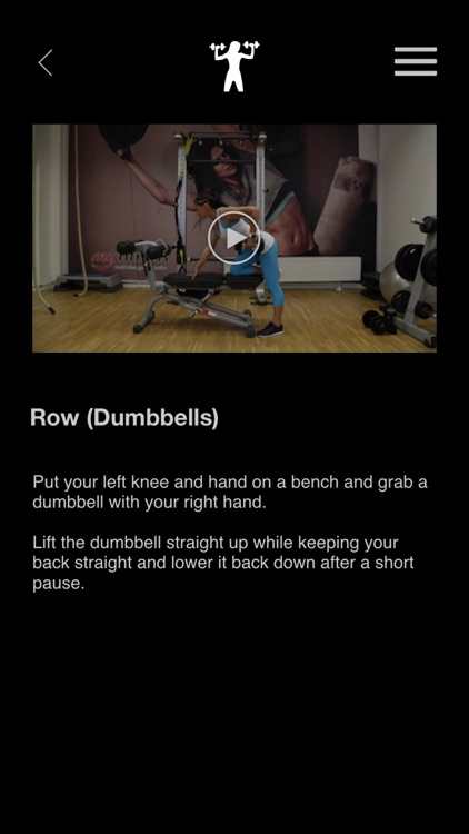 Chest & Back Gym: Best Upper Body Dumbbell and Machine Exercise for Fitness Buddy screenshot-1