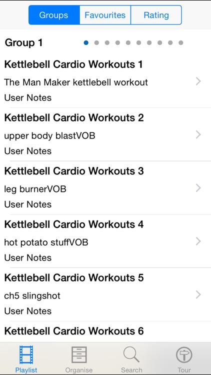 Kettlebell Cardio Workouts