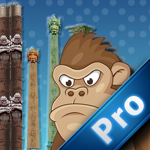 Monkey Flies Pro : Escape From The Temple Of Jurassic World icon