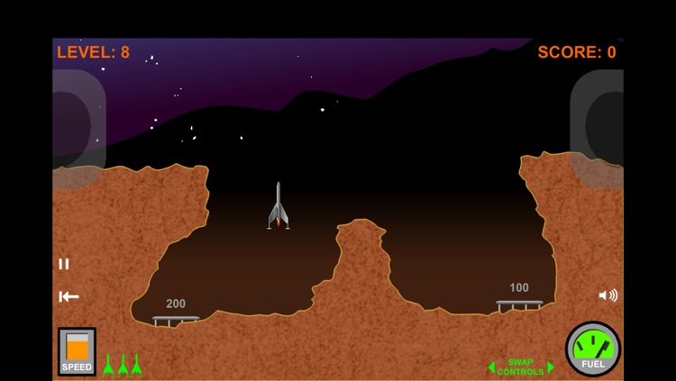 Rocket Lander G-8: Beyond the Moons of Saturn