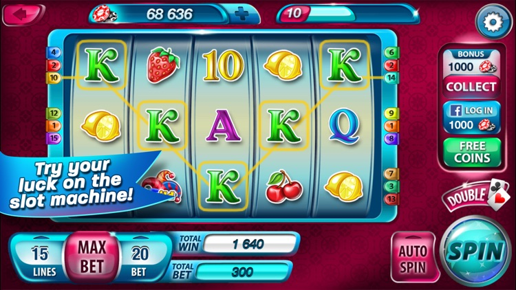 Lucky Spin: Slots Deluxe Game - Big Win Cherry Casino! Las Vegas Slot Games screenshot-0