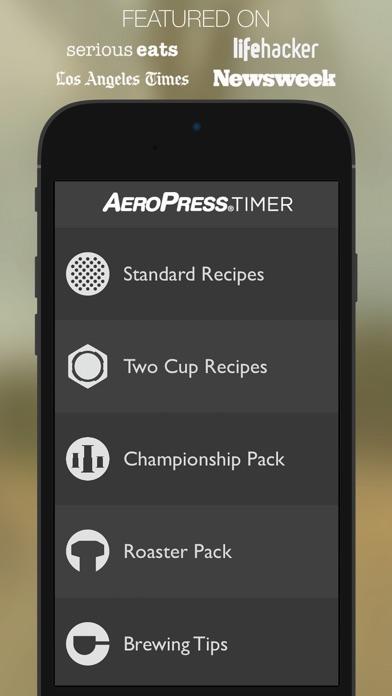 AeroPress Timer: For Aerobie's AeroPress Coffee And Espresso Maker app image