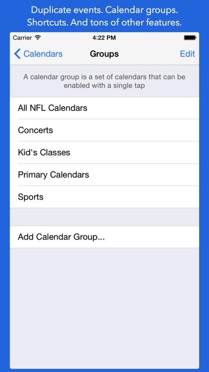 OneStack Calendar - Simplify and organize your life screenshot-4