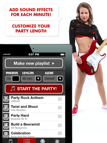 Ali's Power Album: Hour Party Playlist Maker-ipad-2