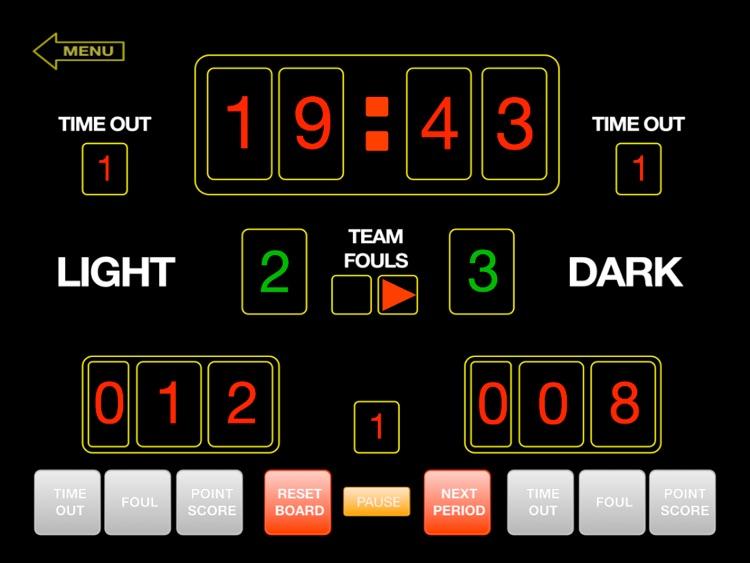 ScoreKeeper Scoreboard Lite screenshot-3