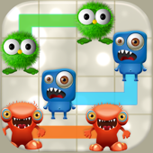«Un monstre Alien fou Mash-Up - Jeu de puzzle