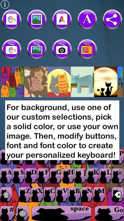 Cat Keys Free Custom Keyboard screenshot-3
