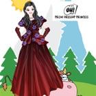 prom dress up giochi per ragazze principessa. icon