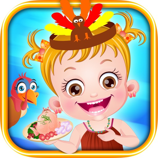 Baby Hazel Thanksgiving fun iOS App
