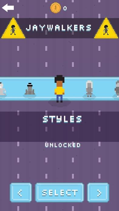 Jaywalker! - 2D Endless Arcade Runner screenshot four