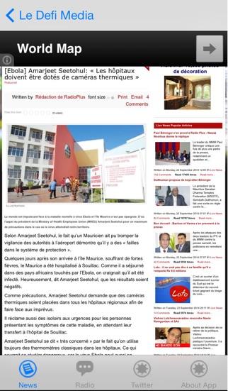 Mauritius News screenshot three