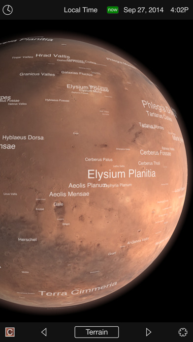 Mars Globe-0